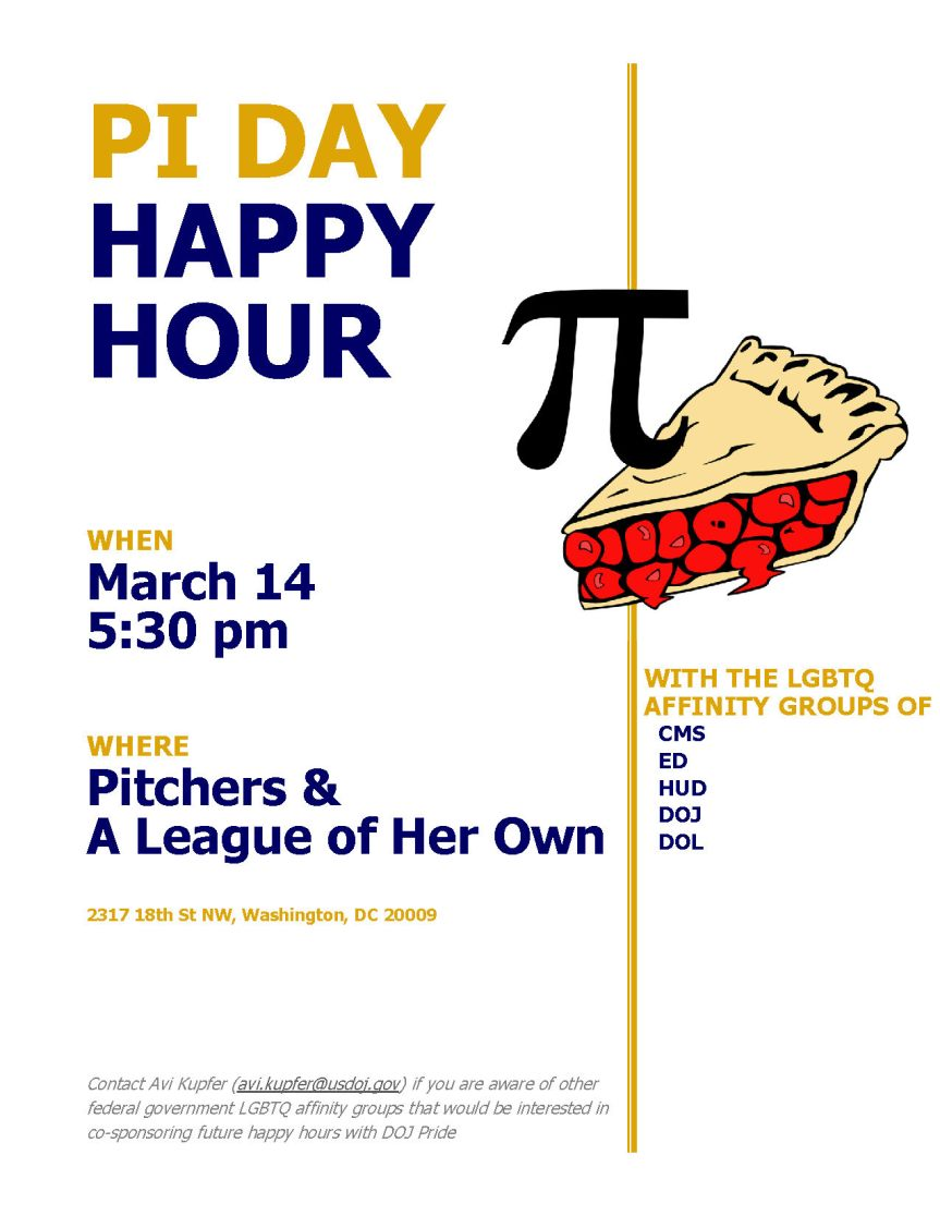 Pi-Day Happy Hour