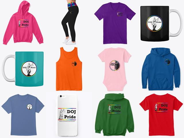 DOJ Pride Merchandise!