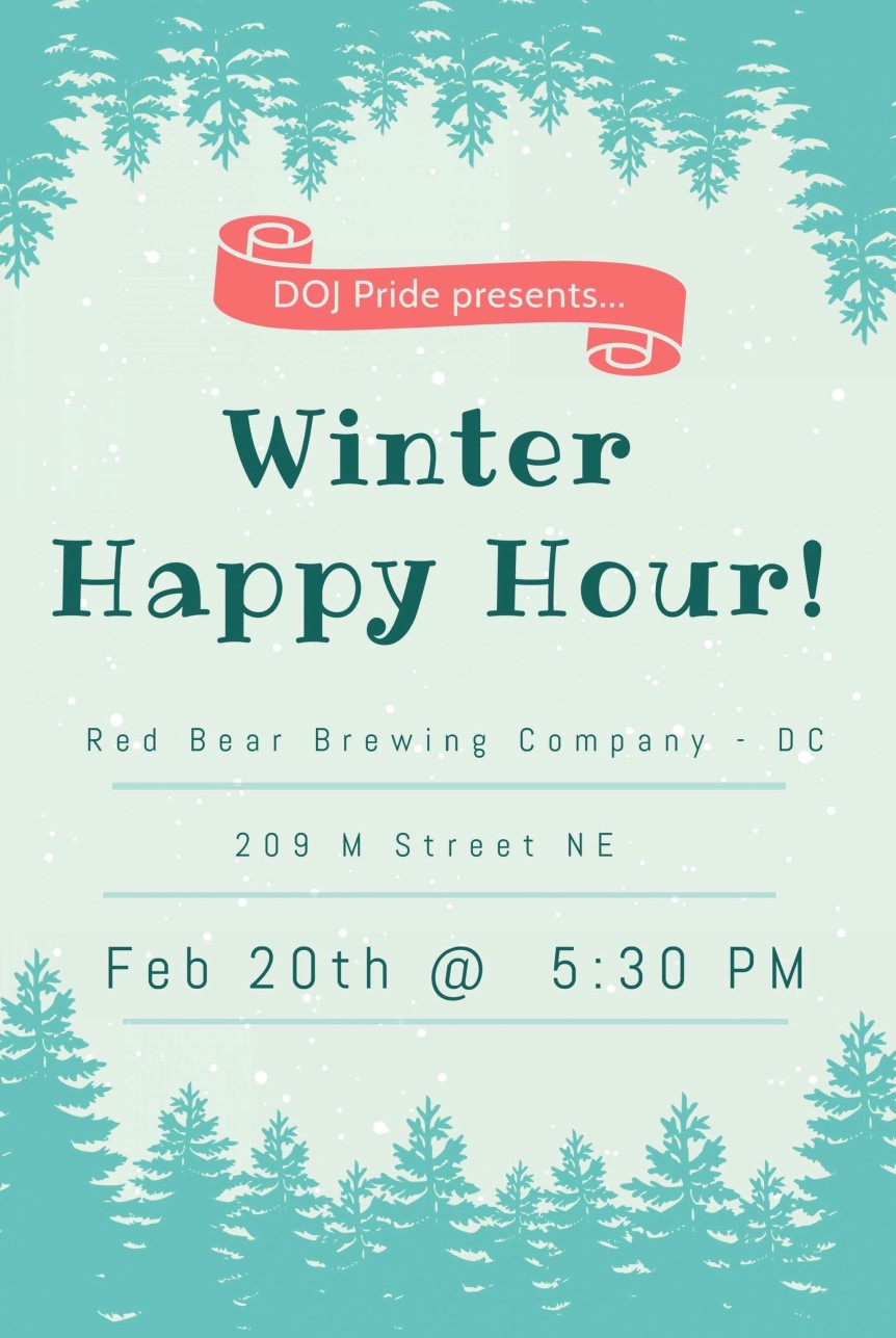 Winter Happy Hour 2-20-2020